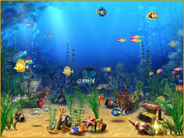 3d Gun Image: 3d Aquarium Screensaver