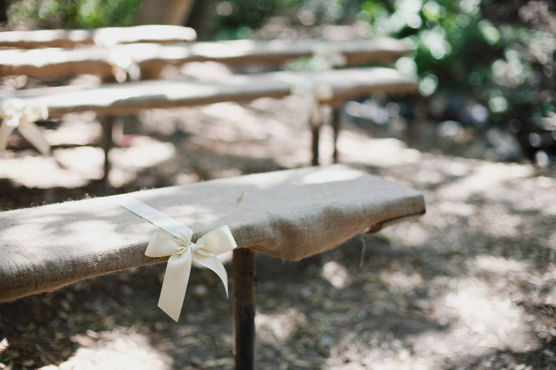 A Nature And Rustic Wedding