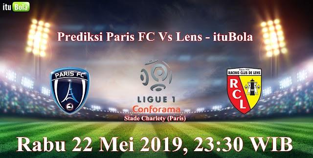 Prediksi Paris FC Vs Lens - ituBola