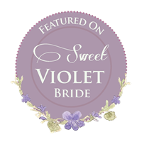 Featured on Sweet Violet Bride
