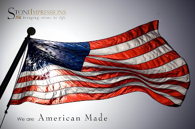 StoneImpressions American made graphic