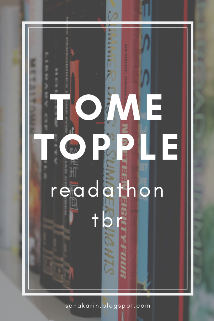 My TBR for Round 8 of the Tome Topple Readathon