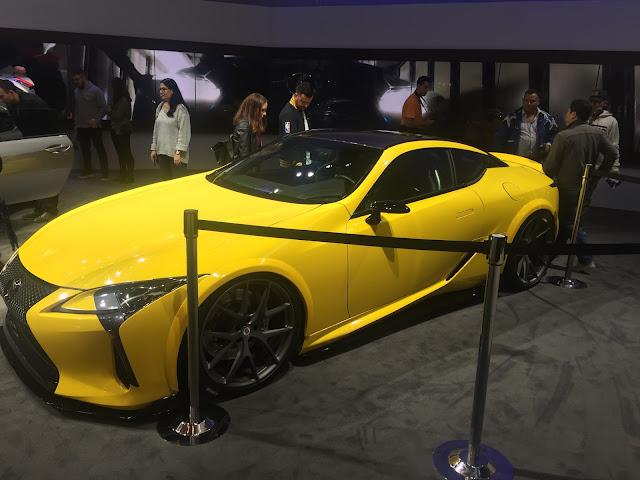 Lexus LC500 LA Auto Show 2016