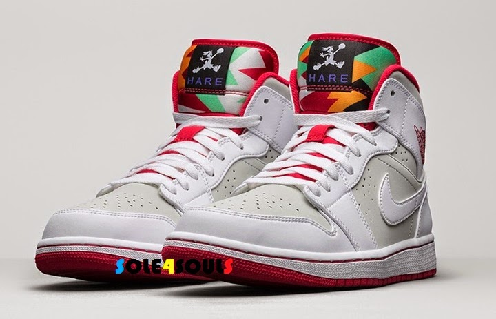 5431769846f Sole4Souls : Nike Air Jordan 1 Mid WB Hare