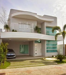 แบบบ้านสองชั้นทันสมัย