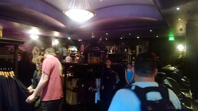Madam Malkins Robes for All Occasions Diagon Alley Wizarding World of Harry Potter Orlando Tips & Review Family Travel 2015