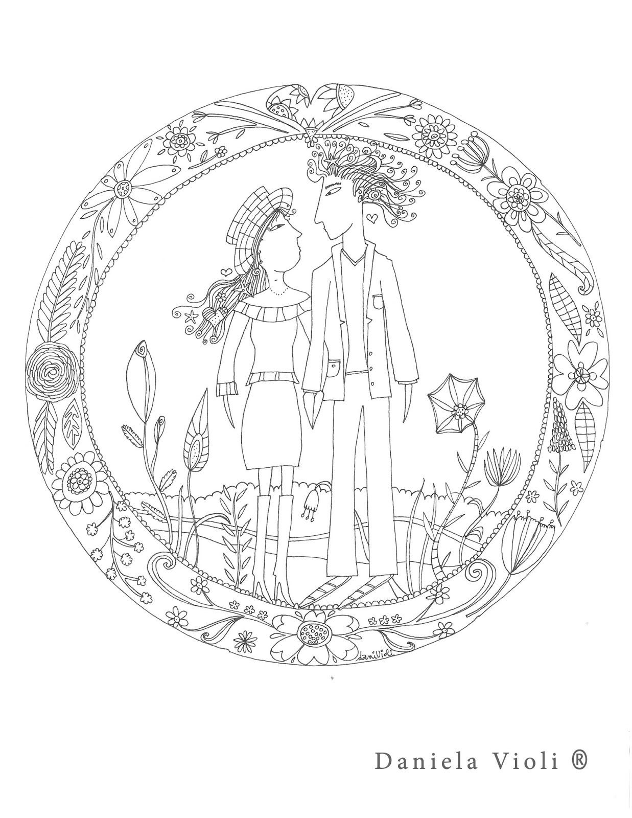 Mandala Para Colorear En San Valentín Anecdotario De Una Alcagüeta