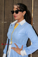 Richa Chadda Latest Pos in Blue Short Dress at the Screening Of Short Film Khoon Aali Chithi  0014.jpg