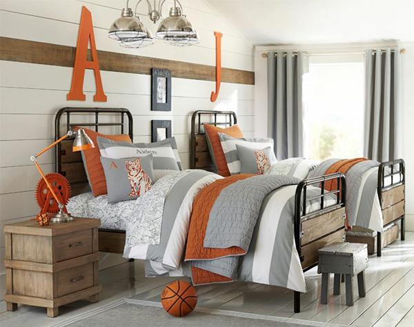 10 dekorasi kamar tidur cowok tema basket paling keren