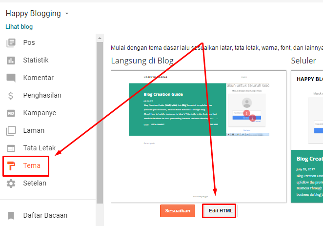 #5 - Cara mendaftarkan blog ke webmaster google