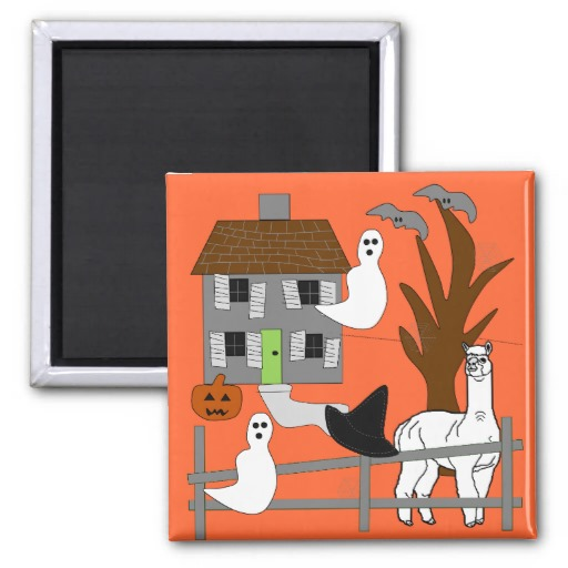 Alpacas Rock Halloween Home Decor