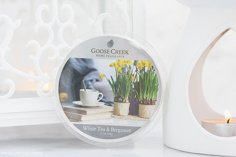 wosk zapachowy goose creek white tea & bergamot