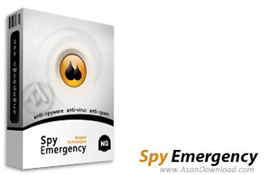 تحميل برنامج حذف ملفات التجسس Spy Emergency 2016