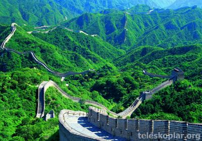Çin seddi uzunluk