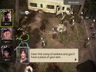 The Walking Dead No Man's Land playing