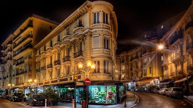 Monaco Cityscape by Night