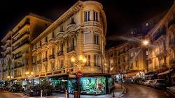 Monaco Cityscape by Night 4K