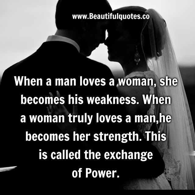 Man Loving A Woman Quotes: Beautiful Quotes: When A Man Loves A Woman
