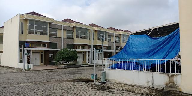 Rumah Contoh Tipe Olive Di Green Park Jl. STM Kampung Baru Medan