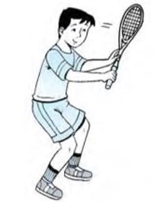 Cara Bermain Tenis : bermain, tenis, Permainan, Tenis, Lapangan, (Materi, Pelajaran, SMP/MTs, Kelas