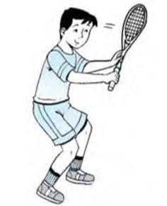 Penerimaan servis  Tenis Lapangan
