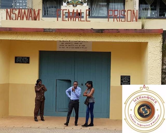 mildred menkiti at the Nsawam Female Prisons, Nsawam, Ghana 4