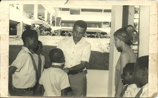 inaugurando la esbec 48 de los congoleses en Cuba, México