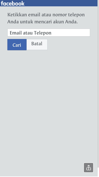 Terkadang kita akan lupa kata sandi ketika kita sudah usang tidak memakai akun tersebut  Lupa Kata Sandi Facebook? Inilah Jalan Keluarnya