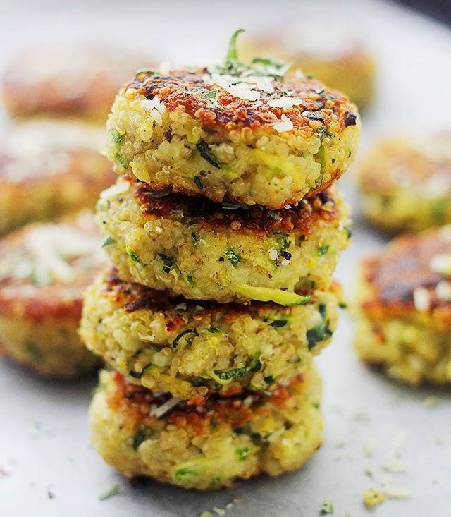 Croquetas de Quinoa y Zapallo Italiano