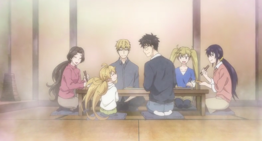 Download Anime Amaama to Inazuma Episode 12 Subtitle Indonesia Final