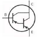 Transistor Symbol - Darlington PNP