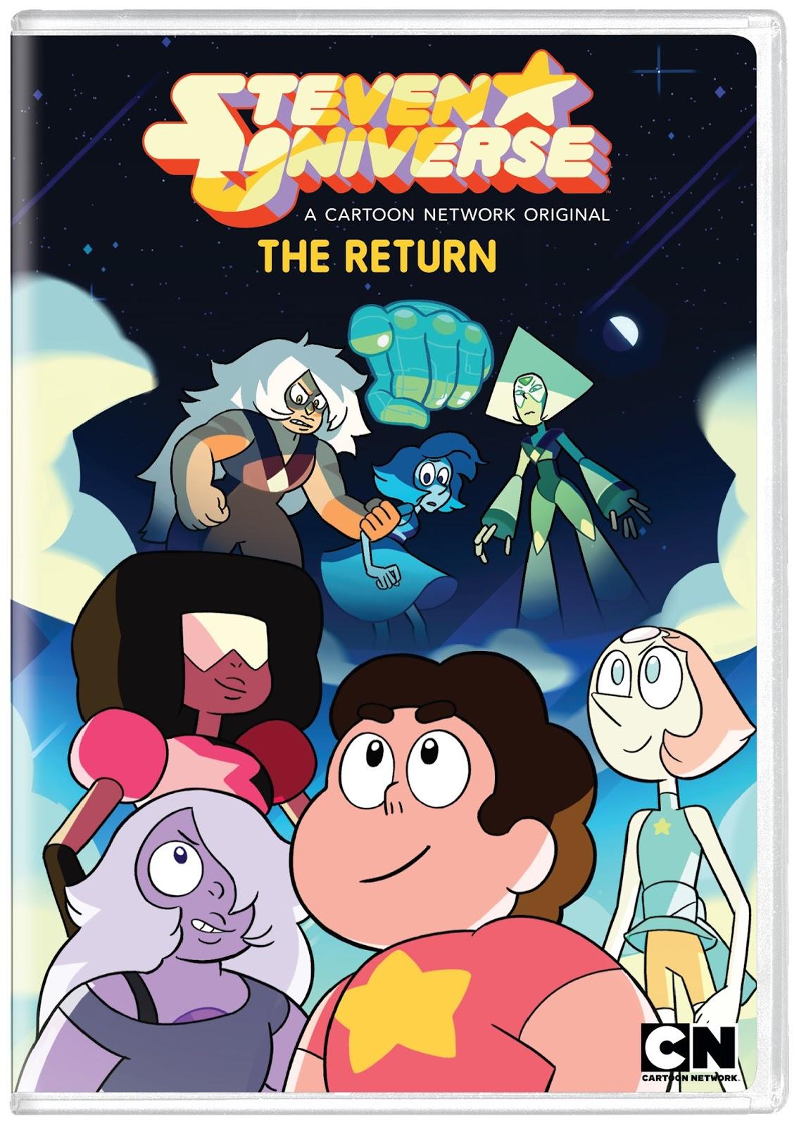 e60f54a5e5c9 Steven Universe  The Return on DVD