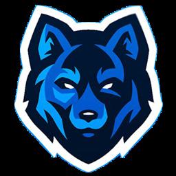 logo serigala boom biru