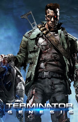 Poster Terminator Genesis - fan made