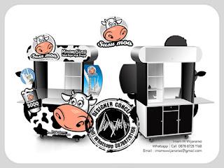 produksi gerobak susu murni