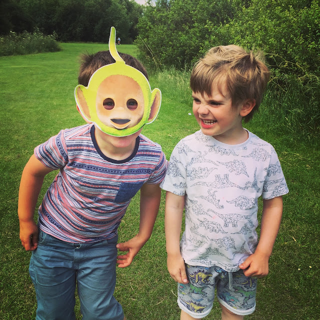 Teletubbies masks fun!
