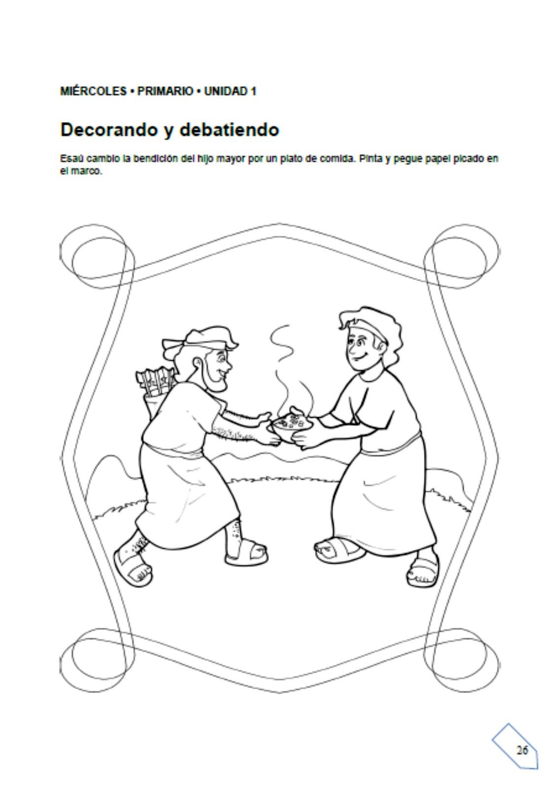 Ebi Paraguay El Nacimiento De Esau Y Jacob