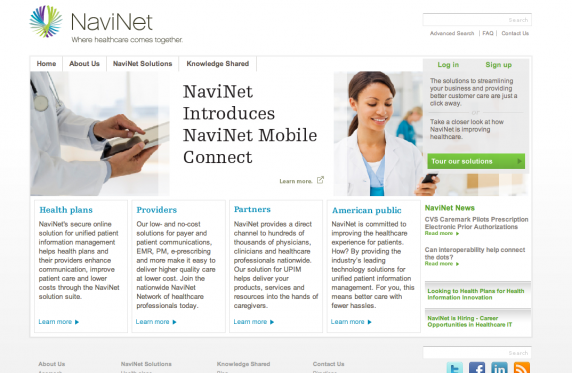 Sign Up For NaviNet.net To Manage Your Healthcare By