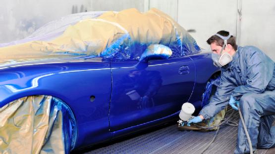 cara mengecat mobil sendiri