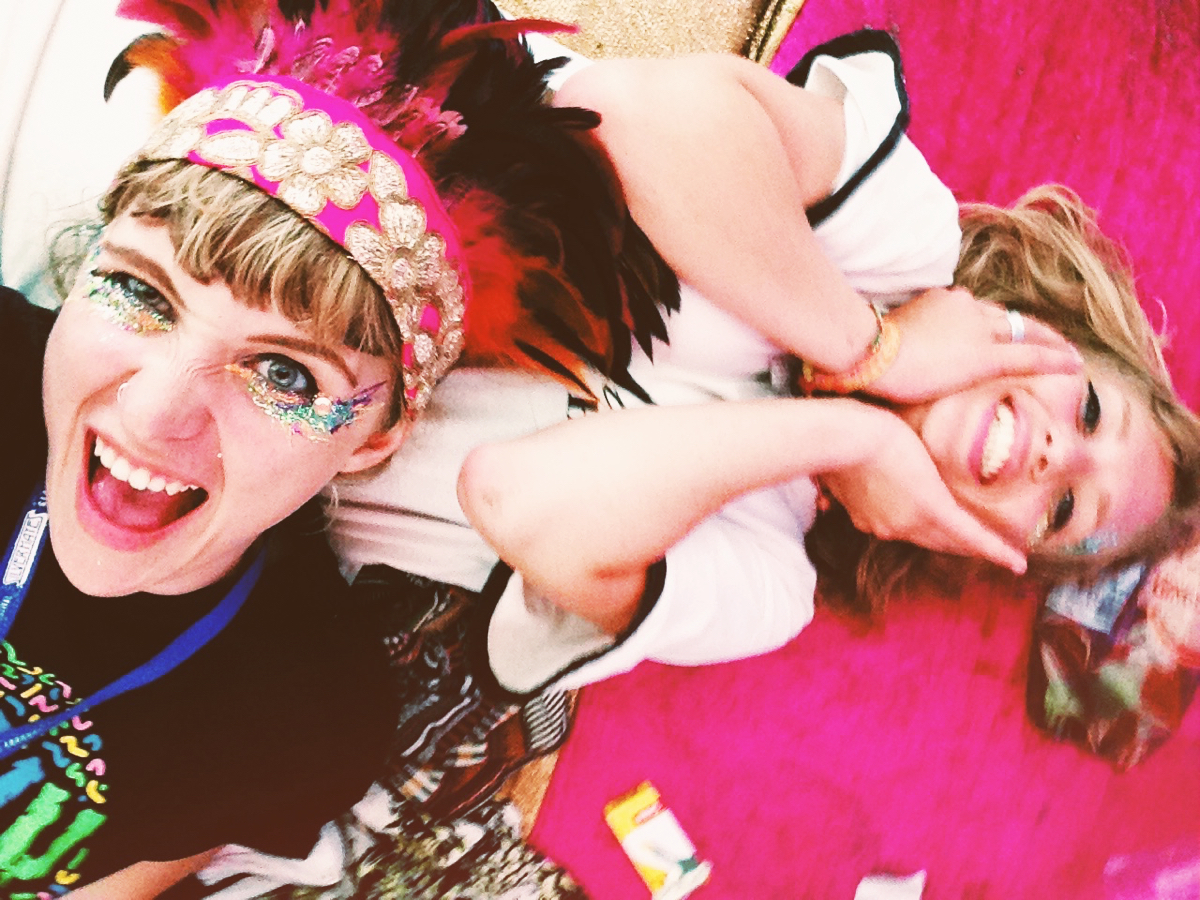 Glastonbury Festival, Boo-dior, glitter