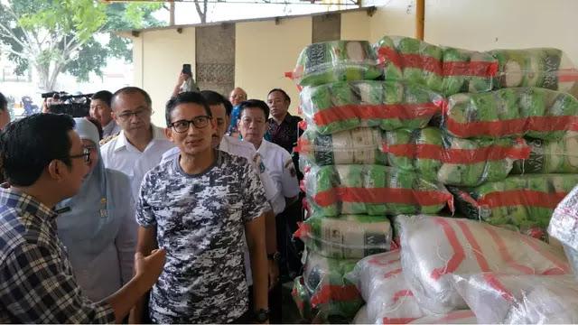 Sandiaga: Pasokan Telat 2 Jam, Harga Bawang di Jakarta Langsung Naik