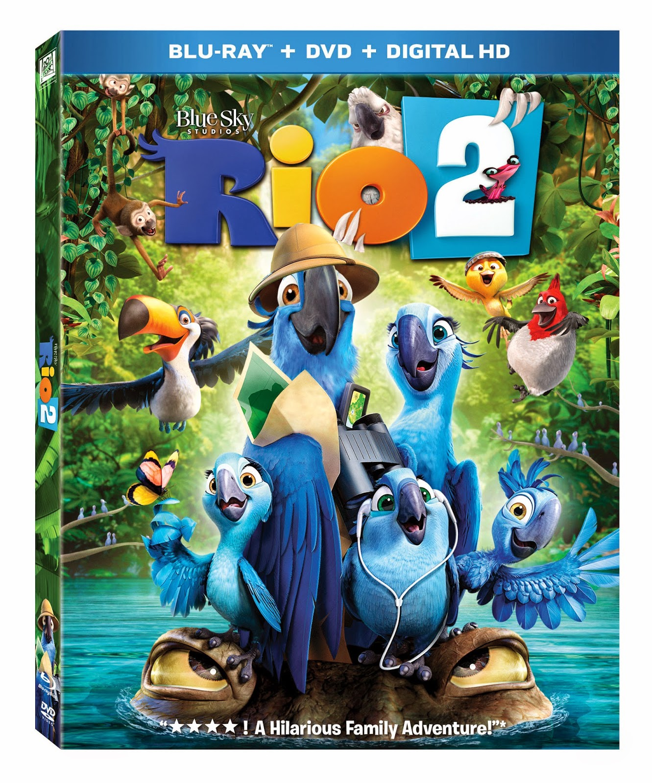 a geek daddy: free rio 2 coloring pages & bluray/dvd/digital