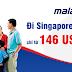Vé máy bay đi Singapore hãng Malaysia Airlines giá rẻ