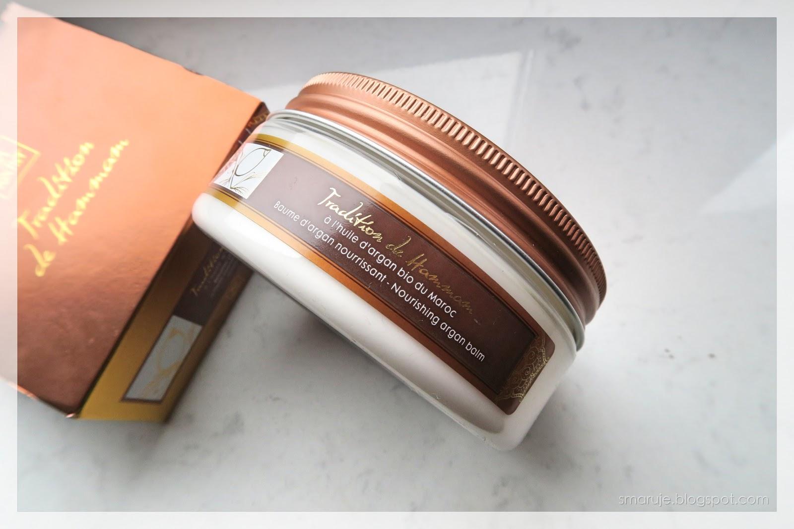 Yves Rocher –Tradition de Hammam –balsam odżywczy z olejkiem arganowym i kwiatem pomarańczy /recenzja/