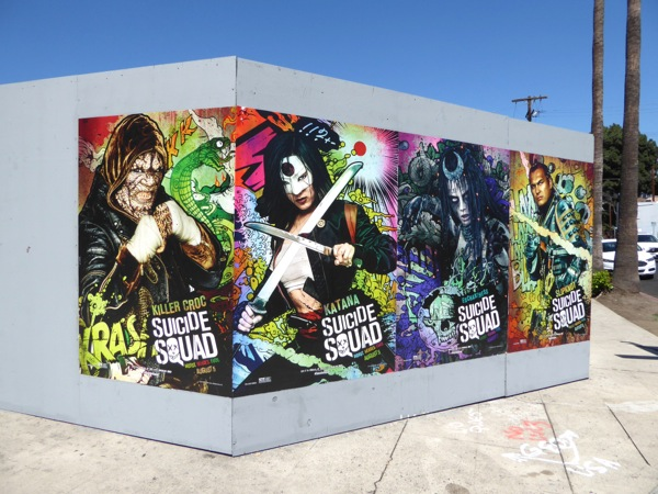 Suicide Squad street posters