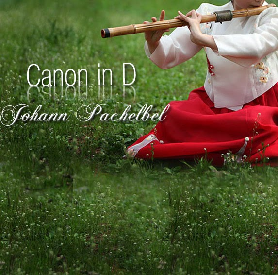 Canon in D - Johann Pachelbel | Music Letter Notation with