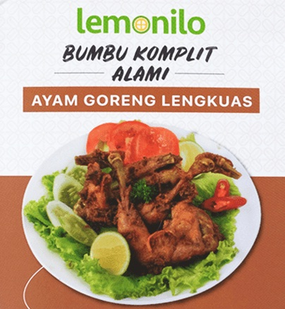 Bumbu Ayam Goreng Praktis dan Alami dari Lemonilo