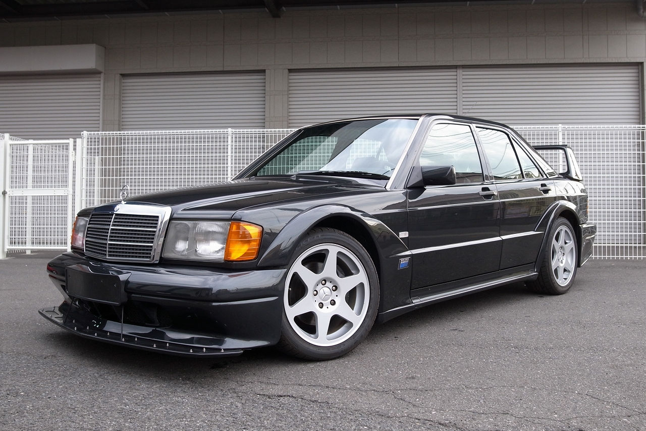 there s a super rare 1991 mercedes 190e 2 5 16v evo ii for sale in california carscoops. Black Bedroom Furniture Sets. Home Design Ideas