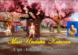 Lirik Lagu Male Undaka' Katuoan (Yenni Paseru)