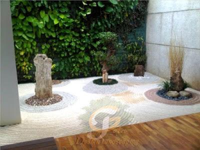Membuat Rumah Lebih Stylish dan Asri dengan Taman Kering